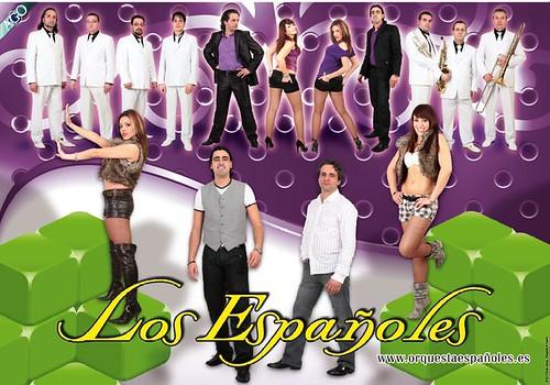 Los Españoles 2011 - orquesta - cartel pequeno