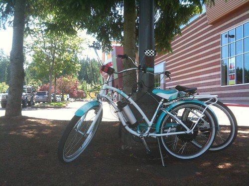 Lightpost = Bikerack by Oakwright