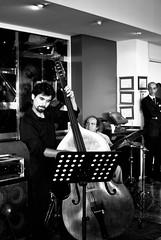 Bora Celiker Trio (barfilozofu) Tags: istanbul trio 18 tunel bora caz festivali 2011 senligi celiker