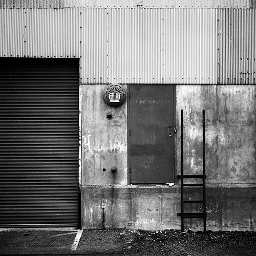 Dockside Doorway #2 by Colin J Clarke