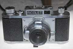 1954 Ricolet 35mm camera (Thumpr455) Tags: camera film japan 35mm vintage antique ricoh viewfinder riken ricolet
