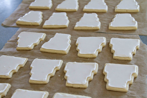 Decorated Wedding Cookies - 2