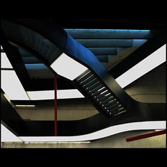 abstraction on stairs 21 (carlos pataca) Tags: light abstract rome color building museum architecture geometry zahahadid maxxi carlospataca