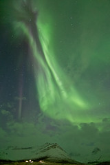 Last night aurora borealis in Faskrudsfjordur (*Jonina*) Tags: longexposure winter sky mountains night iceland cross 500views sland auroraborealis vetur ntt kross himinn fjll norurljs fskrsfjrur faskrudsfjordur jnnagurnskarsdttir april13th2012