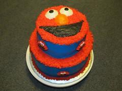 Elmo Cake by Sandy B of Birthday Cakes 4 Free San Antonio, TX.