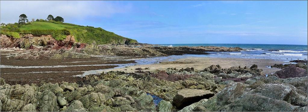 Talland Bay Panorama 2. Nikon D3100. DSC_0599