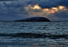 High tide at Bøstranda 4 (Stenersenfoto) Tags: ocean nature berg norway senja hightide winterlight bøvær