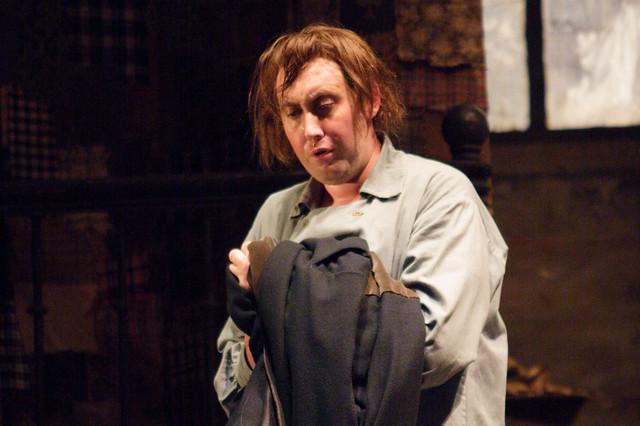 Matthew Rose in La bohème © Catherine Ashmore/ROH 2008