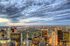Clouds over Central Park from the Top of the Rock HDR (Dave DiCello) Tags: newyorkcity newyork photoshop nikon day cloudy centralpark manhattan tripod rockefellercenter newyorkskyline empirestatebuilding nikkor hdr highdynamicrange topoftherock nycskyline cs4 7worldtradecenter photomatix tonemapped colorefex cs5 d700 sunsetinnyc davedicello hdrexposed