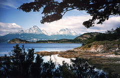 View From The End Of The World, Tierra Del Fuego, Argentina (elpedalero) Tags: ocean travel viaje sea latinamerica americalatina southamerica bicycle america landscape geotagged tierradelfuego ushuaia cycling bay interesting rocks map rocky colores submarine shore bahia latin latinoamerica viagem environment colourful geotag recent bicycletouring biketour parquenacional submarino findelmundo adventurecycling iberoamerica elsubmarino ruta3 coastalbiketour elpedalero pedalero