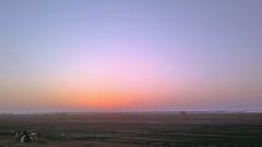 Watching the Sun Go Down (U A Satish) Tags: cameraphone sunset sun india nature dusk smartphone bombay maharashtra mumbai vasai maximumcity uasatish nokiac700