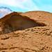 Vulcanic rock formation hat or hut