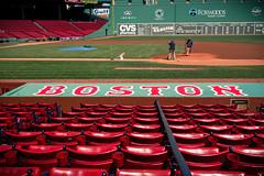 Boston's Dugout (Eric Kilby) Tags: park monster boston redsox seats fenway dugout mlb