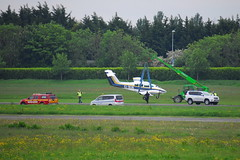 EI-BUN Beech 76 NFC (eigjb) Tags: ireland dublin training airplane airport general aircraft aviation centre flight may engine twin aeroplane landing national beechcraft incident weston duchess 2014 be76 beech76 eiwt 220514 eibun