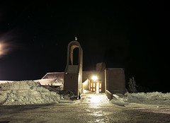 Wy'East Lodge (Curtis Gregory Perry) Tags: show winter night oregon nikon long exposure skiing lodge yeast timberlinelodge wyeast d800e