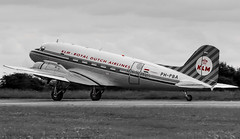 PH-PBA Douglas DC-3 Dakota KLM_MG_5505 (Jonathan Irwin Photography) Tags: klm douglas dc3 dakota durhamteesvalleyairport phpba phwxc