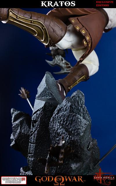 戰神再現!奎多斯進攻雕像限量預購展開!