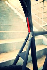 TAIWAN FIRST FIXEDGEAR SHOP OZOTW X 2014 PL22 COMPLETE BIKE X 2014 PLUME2 LUG FRAME IN MATTE BLACK X 2542 BULLHORN BAR IN SILVER X TRI-SPOKE  X OZOTW AG4 CARNKSET IN SILVER X COLOR PEDALS IN RED X CINELLI CARBON SEAT POST X 2014 OSPOKE IN BLACK (OZOTW) Tags: green bicycle shop 50mm cycling aluminum asia track raw meetup taiwan gear fork tire cap ag frame singlespeed fixed taichung fixie fixedgear gt carbon custom velodrome slope pursuit mash sanmarco skid lug ozo 2014 aff1 aff2 aff3 chainlock bottombracket 4130 cinelli 700c madeintaiwan 2013 6066 steelbike chromoly 46t completebike kingheadset tricktrack carbonrim bullhornbar barspinable ozotw srams80 wwwozotwcom 4130steel slopeframeset tpuvelcrotoestrap eurobottombracket 40mmdeeprim plume2 affframeset ospoke