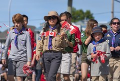 Steveston Canada Day Parade 2014 (Clayton Perry Photoworks) Tags: vancouver bc canada richmond canadaday parade steveston floats people happycanadaday celebration costumes scouts