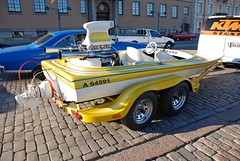(Sameli) Tags: yellow night speed suomi finland boat helsinki cruising