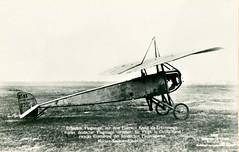 A French Aviation Militarire Morane-Saulnier Type L Parasol in German hands (Kees Kort Collection) Tags: germany captured parasol 279 sanke typel moranesaulnier ms83