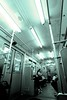 Riding the U (daniel_james) Tags: 2016 berlin germany europe ubahn subway metro train underground canon1022mm people