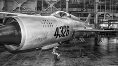 MiG-21 (Oliver Leveritt) Tags: nikond7100 afsdxvrnikkor18200mmf3556gifed oliverleverittphotography sb800 flash speedlight hawaii oahu pearlharbor pacificaviationmuseum hangar 79mig21airplanejetplanefightermig21mig 21
