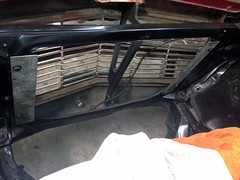 RadSupport03 (john.and.kath) Tags: jrd ls ls2 l76 60l engine conversion radiator support mounting bracket flanges spacer welding 1965 chevrolet impala