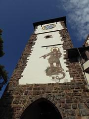 Schwabentor (thomaslion1208) Tags: freiburg freiburgeraltstadt turm tor georg