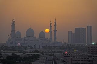 Abu Dhabi Sunset