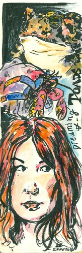 Dreaming of Toads sketch by Danalynn C