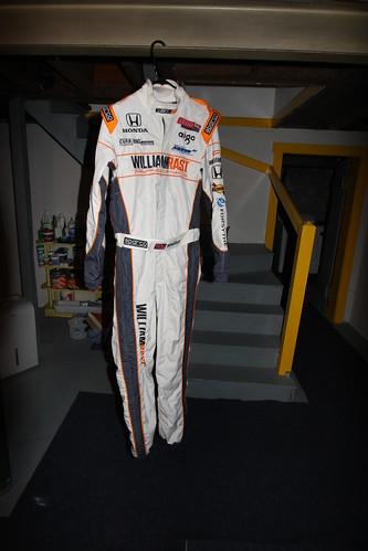 Wheldon's Firesuit