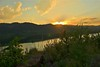 A sunny sunset (nick.matthies) Tags: sunset landscape colorado rocks fortcollins reservoir hdr magichour goldenhour horsetooth ftcollins fdrtools