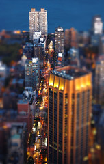 New York City - East 34th Street TiltShift