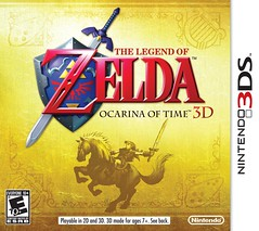 he Legend of Zelda: Ocarina of Time 3D (Nintendo 3DS)