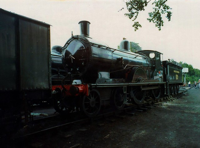 Greyhound at Ropley 1989/90