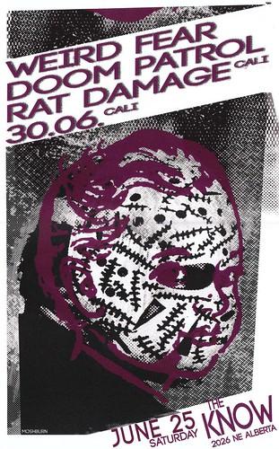 6/25/11 RatDamage/30.06/WeirdFear/DoomPatrol