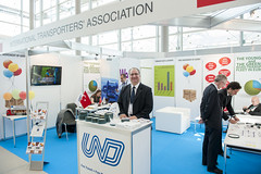 Alper Ozel on the UND Stand