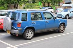 Nissan Rasheen - 01 (Rally Pix) Tags: nissan rasheen
