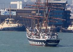 Tall Ship (Bernie Condon) Tags: test water boat sailing ship vessel solent sail tallship southamptonwater
