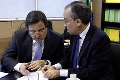 28-05-2014 Ministro em audincia com Deputado Danilo Forte (CE) (Ministrio da Integrao Nacional) Tags: braslia cear francsico forte danilo deputado ministro gabinete teixeira