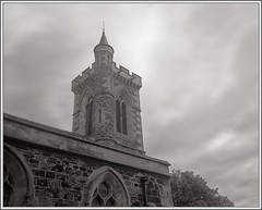 Pointy Bits (spodzone) Tags: light sky people blackandwhite panorama building art church nature composite architecture clouds composition manipulated vintage photography spiky scotland warm emotion unitedkingdom space angles dreary places calm equipment negativespace filter zen bland dreamy balance beyond areas moment reverence striking simple toned platinum contrasts dull portpatrick airy turbulence elegance shapely dumfriesandgalloway gbr hugin digikam churchofscotland tonemapped skyearth shapeandform dulllight rawconversion senseofscale sharpsoft enfuse calmstill digitalred meaningemptiness darktable abstractqualities digitalbloom mankindnature filthycloud digitallowpass