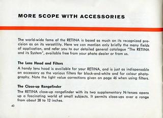 Kodak Retina IIIC - Instructions For Use - Page 40