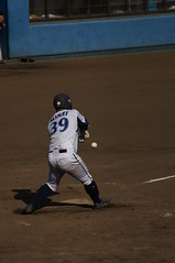 DSC05267 (shi.k) Tags: 横浜ベイスターズ 140601 嶺井博希 イースタンリーグ 平塚球場