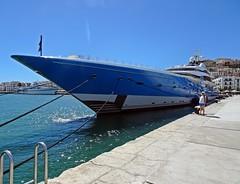 Madame Gu (Bricheno) Tags: madamegu boat yacht superyacht wife ibizatown ibiza eivissa spain spanje spanien spagna espanha espanya espaa espana mediterranean mediterrnia islasbaleares island illesbalears balearics baleares balears bricheno hiszpania     holiday