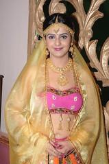 South Actress CHARULATHA Hot Photos Set-2- at Sri Ramanujar film shooting (10)