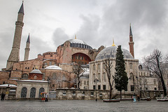 Hagia Sophia, Istanbul (micebook) Tags: turkey istanbul city capital culture centre town buildings architecture sky birds landmarks