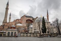 Hagia Sophia, Istanbul (micebook) Tags: turkey istanbul city capital culture centre town buildings architecture sky birds landmarks