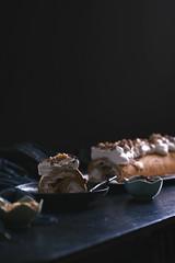 Meringue Roulade + Chocolate Shavings + Salty Sweet Peanuts (Lan   MoreStomachBlog) Tags: glutenfree dessert dairyfree lactosefree baked meringue eggs eggwhites chocolate peanuts organic