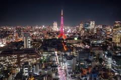 Tokyo Tower Night View Tokyo Night Night Lights Illuminated Illumination  at Tokyo Tower () (rapisu) Tags: tokyotower nightview tokyonight nightlights illuminated illumination
